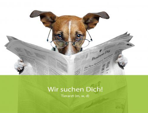 Aktuell freie Stelle: Tierarzt (m, w, d)